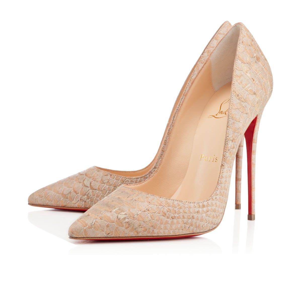 watch 11547 d82a4 Louboutin So Kate, Beige cork   Shoes Shoes   Christian ...