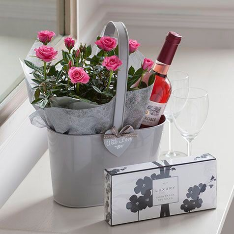 Chocolate Gifts Wine Valentine Gift Baskets Friend Birthday Present