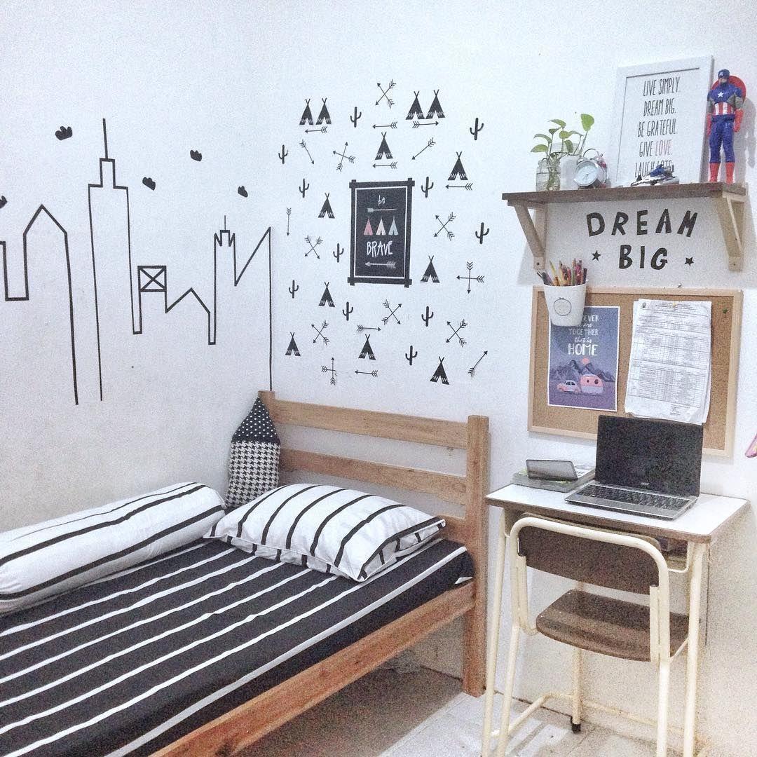 Desain Rumah Vintage Luas 60 M Yang Kekinian Bikin Nyaman Ide Kamar Tidur Ide Dekorasi Kamar Tidur Desain Interior