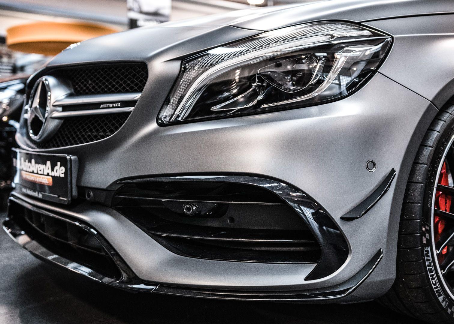Amg A45 In Designo Magno Mountain Grey Mattlack Unbedingt Empfehlenswert Die Cleanextreme Matt Pflegeserie Mercedes Mer Alto Car Mercedes Mercedes Amg