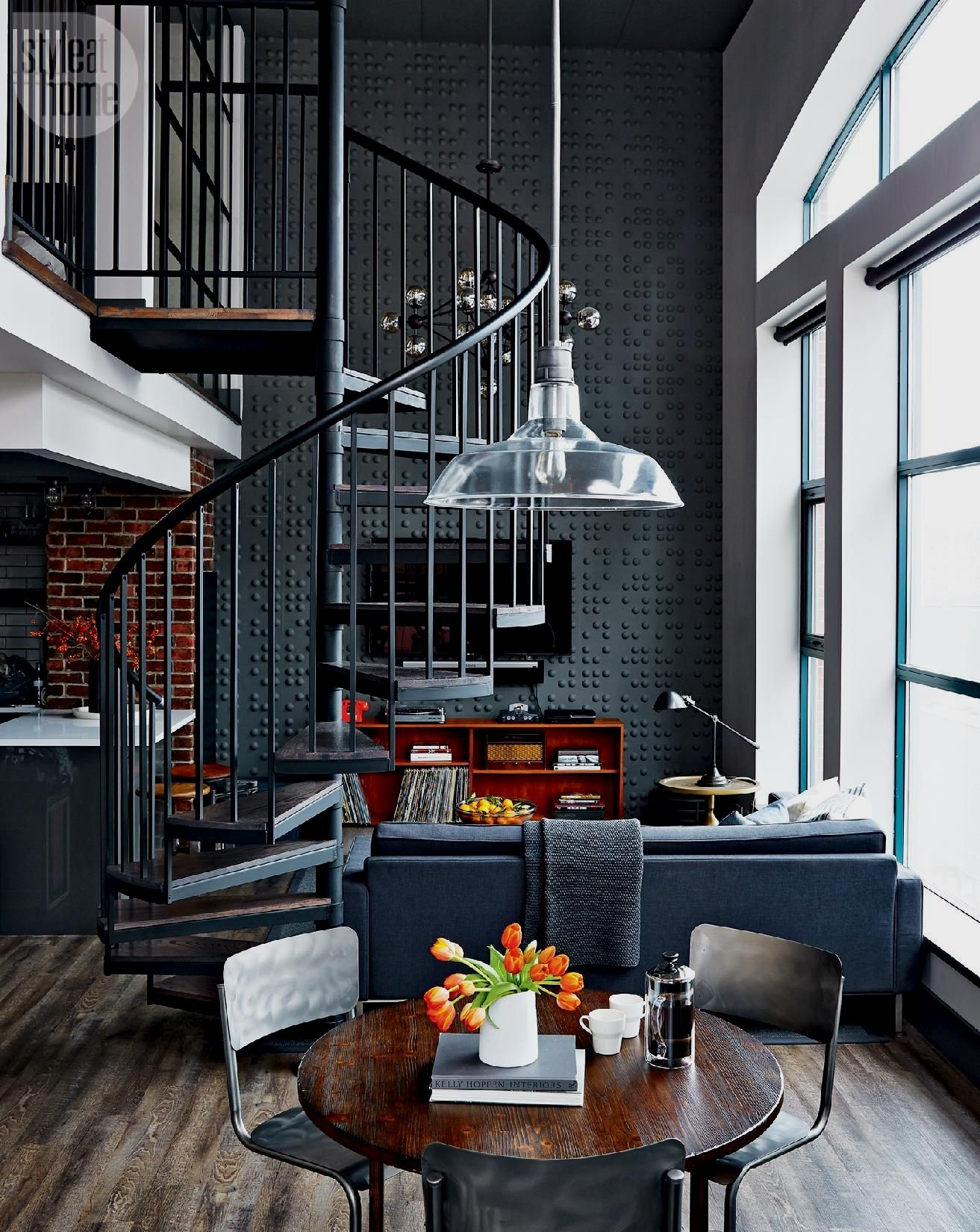 Awesome Vintage Industrial Decor Designs For Your Urban Living