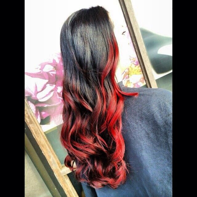 Girl on fire.... #redombre