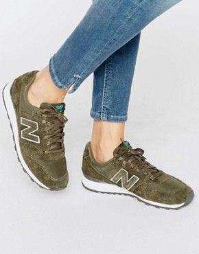 Shop New Balance 996 Khaki Suede Trainers at ASOS.