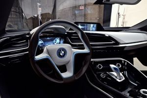Bmw I8 Hands On The Hybrid Supercar At Rest Randalls Cool