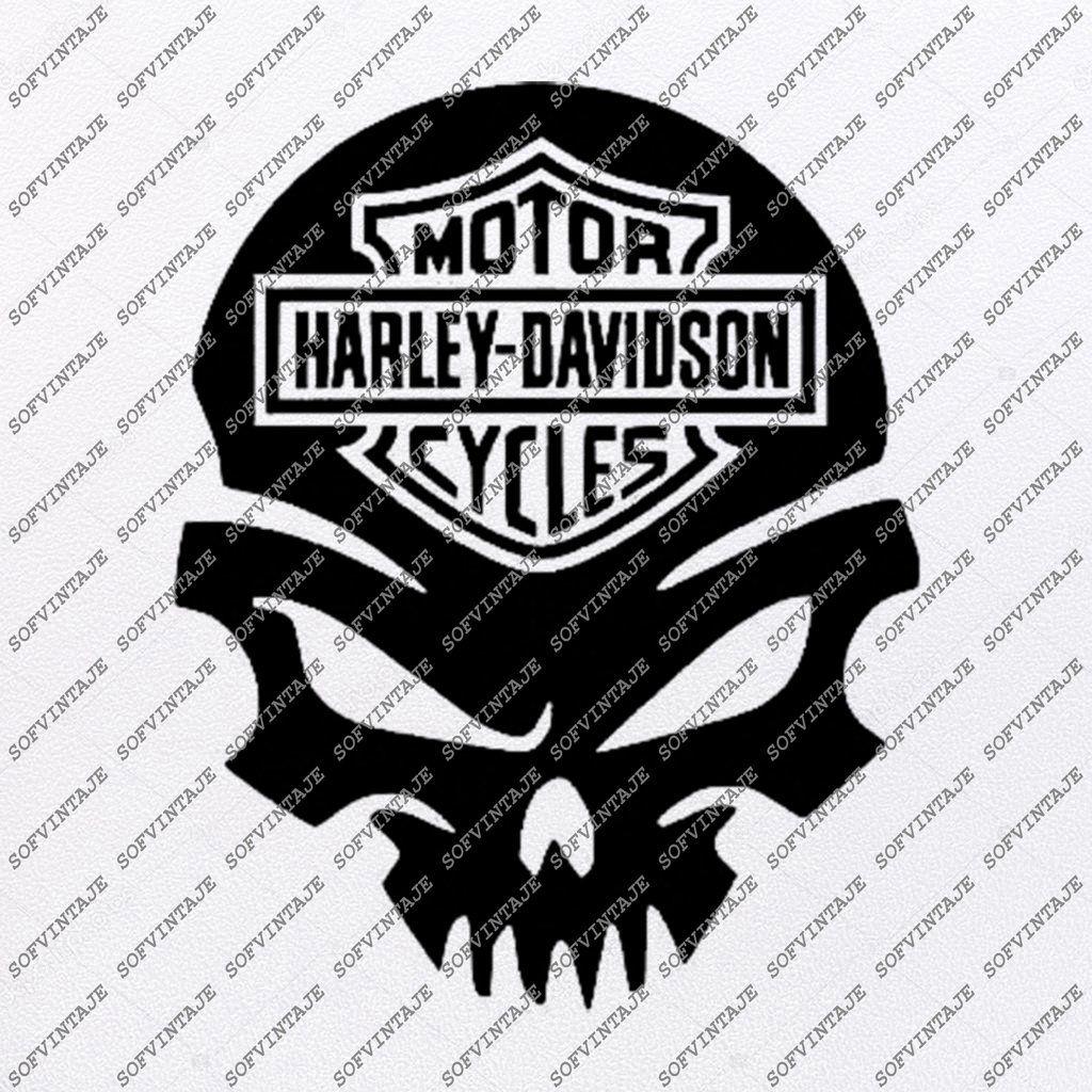 Harley Davidson Svg File Skull Svg Design Clipart Motorcycles Svg File Davidson Png Vector Graphics Svg For Cricut For Silhouette Svg Eps Pdf Dxf Png Jpg Ai Harley Davidson