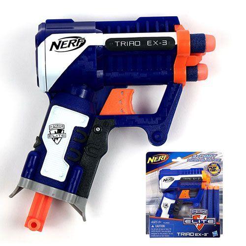 Nerf N-strike Elite Traid EX-3 3dart Micro Blaster #speelgoed #Nerf #Nstrike #EliteTraidEX33dartMicroBlaster
