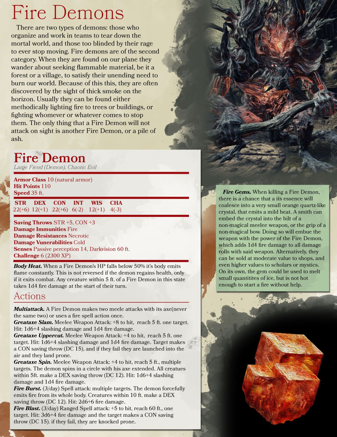 DnD 5e Homebrew — Dark Souls 3 monsters by ALVIG | D&D