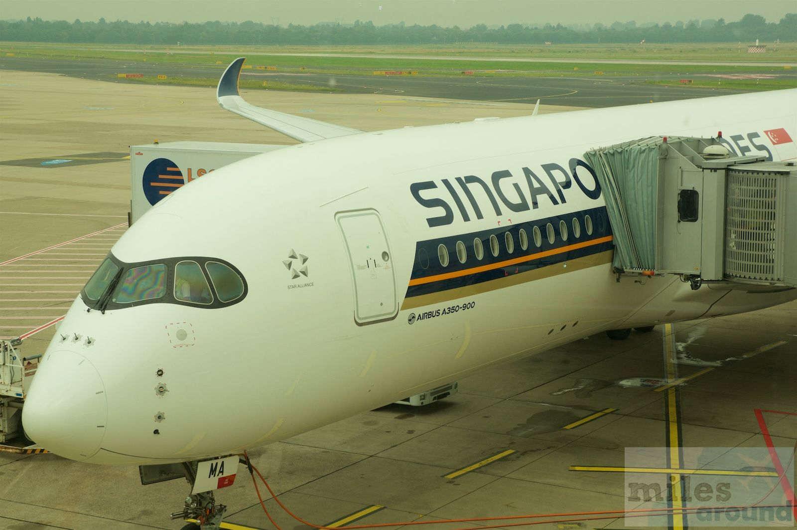 Singapore Airlines Business Class in der Airbus A350900
