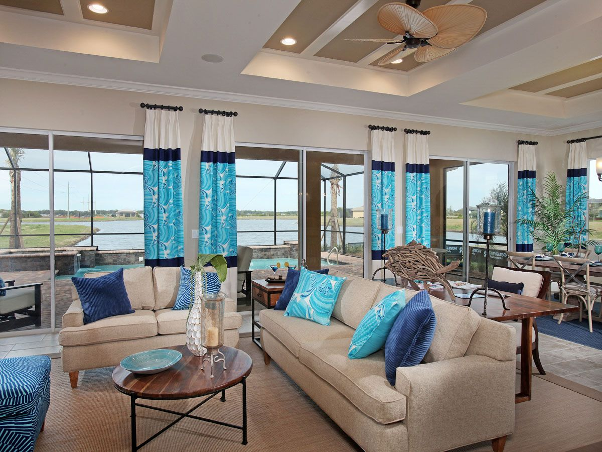 WCI Communities, Agostino Home Design - Living Area | Interior ...