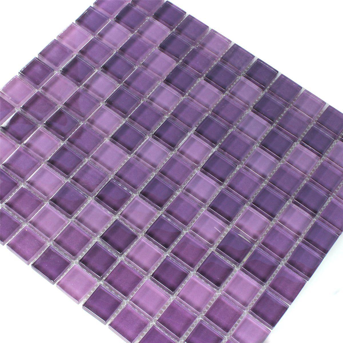 Kitchen Tiles Purple purple glass tile backsplash - google search   kitchen tile and