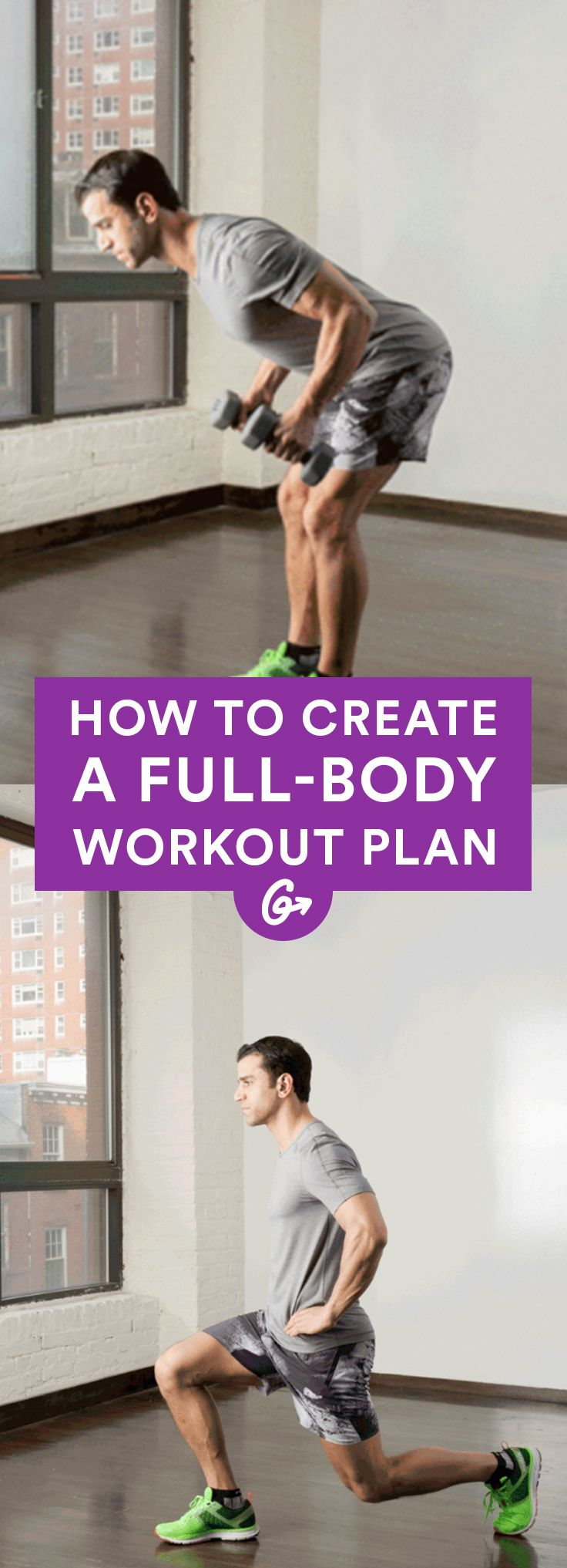 How To Create Your Own Full Body Workout Plan Fitness Workouts Pinterest Workout Plans