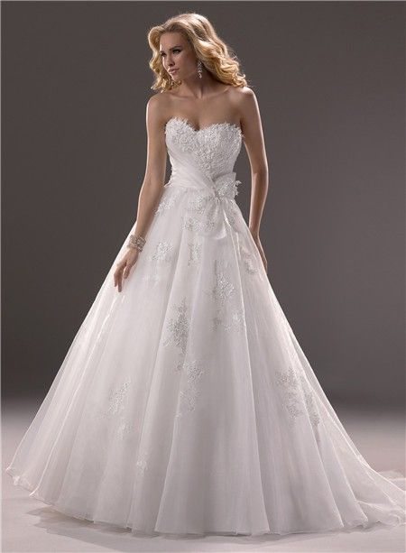 Princess Ball Gown Wedding Dresses | Princess Ball Gown Sweetheart ...