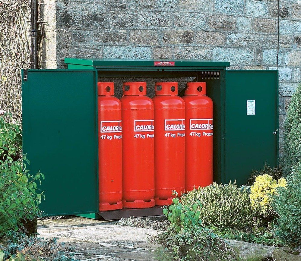 Asgard Asgas 6 x 2 ft Gas Bottle Store Bottle store