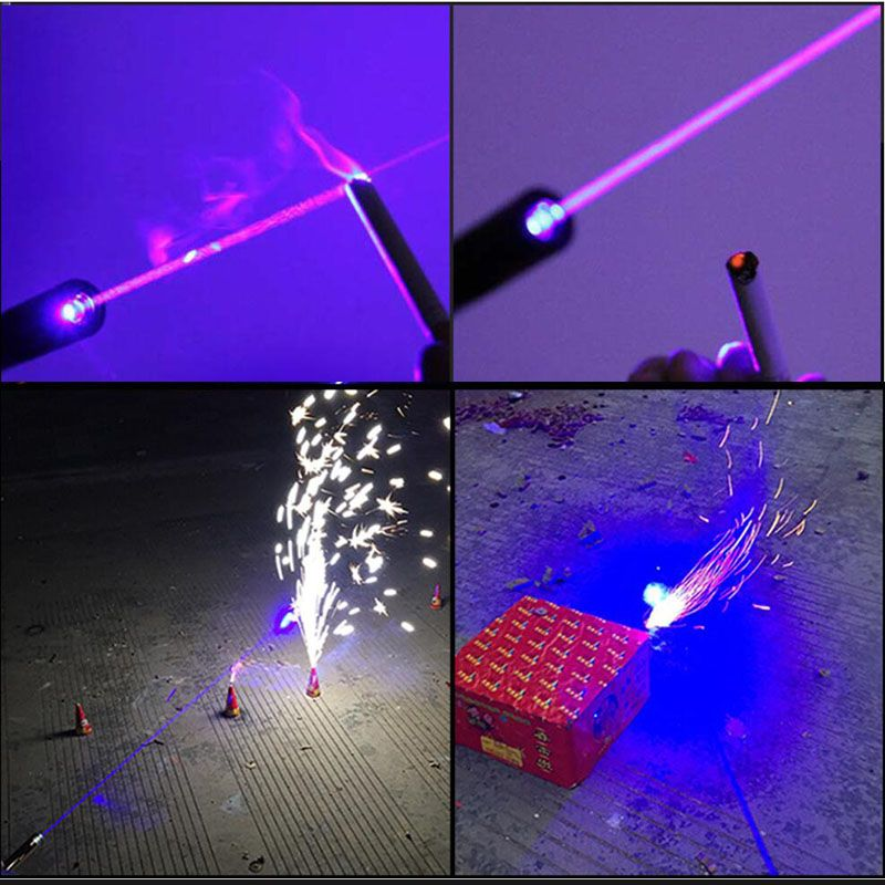 1200mw laser pen blue laser pointer flashlight lighted cigarette
