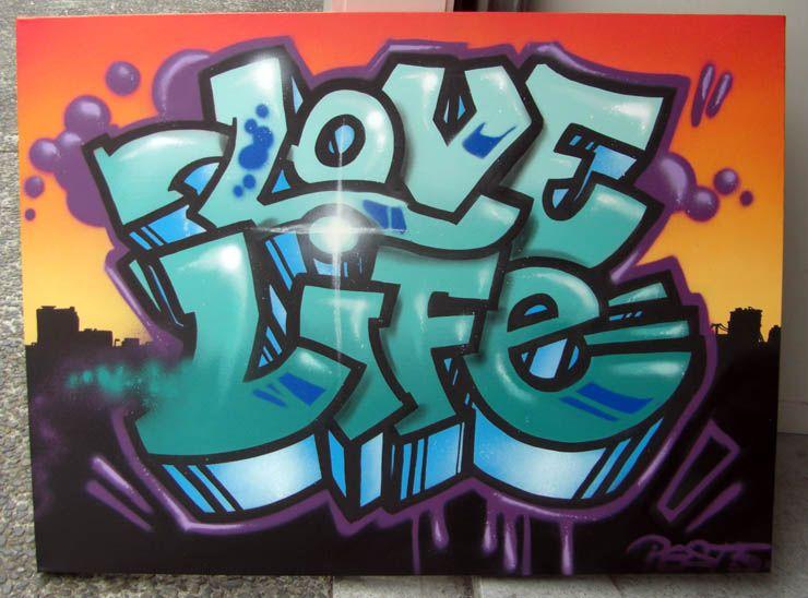 Love Graffiti Art   Graffiti Art Love Murals and graffiti ...