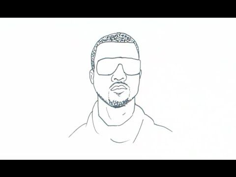 How To Draw Kanye West Drawings Sketches Kanye West