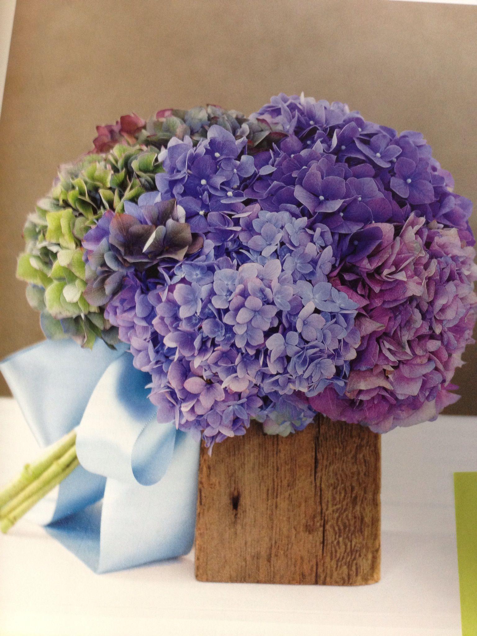 Real Simple Magazine Hydrangea Bouquet