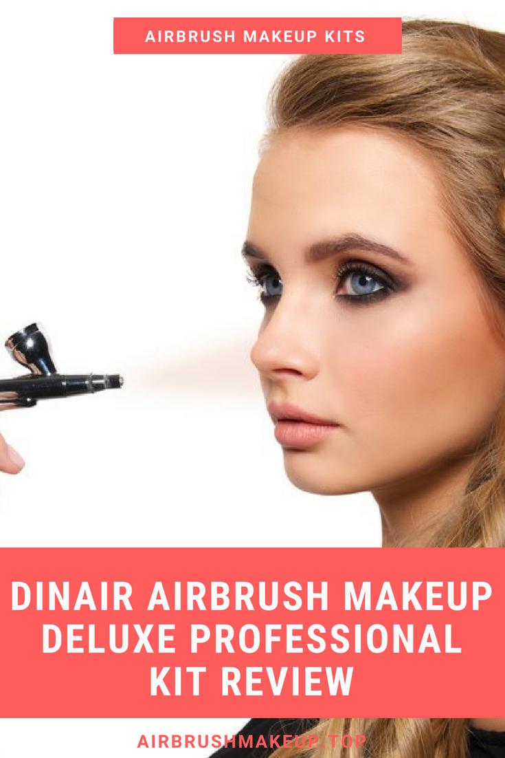 Dinair Airbrush Makeup Deluxe Professional Kit Review
