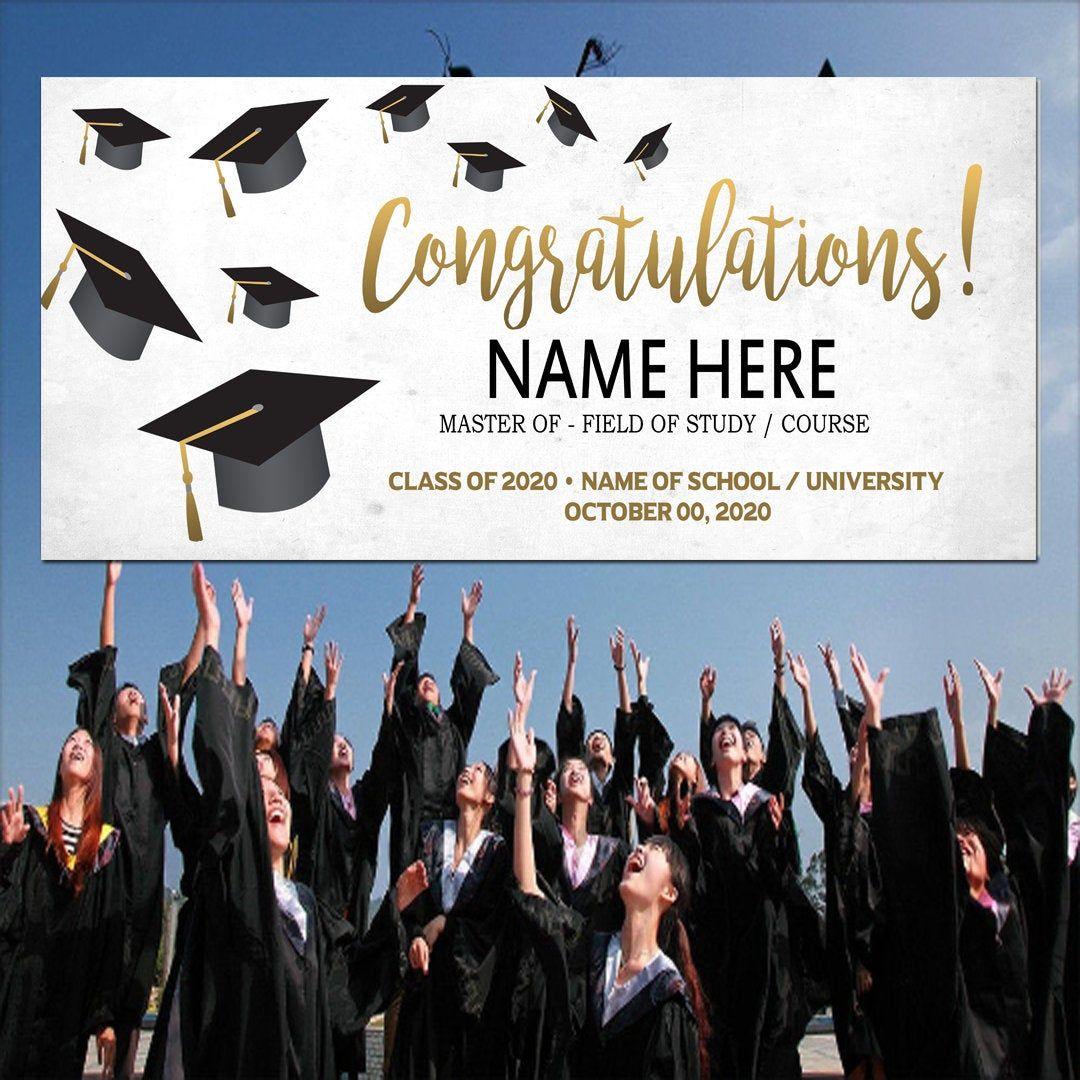Congrats graduate congrats banner graduation banner graduation party decor congratulations banner congrats grad banner graduation sign