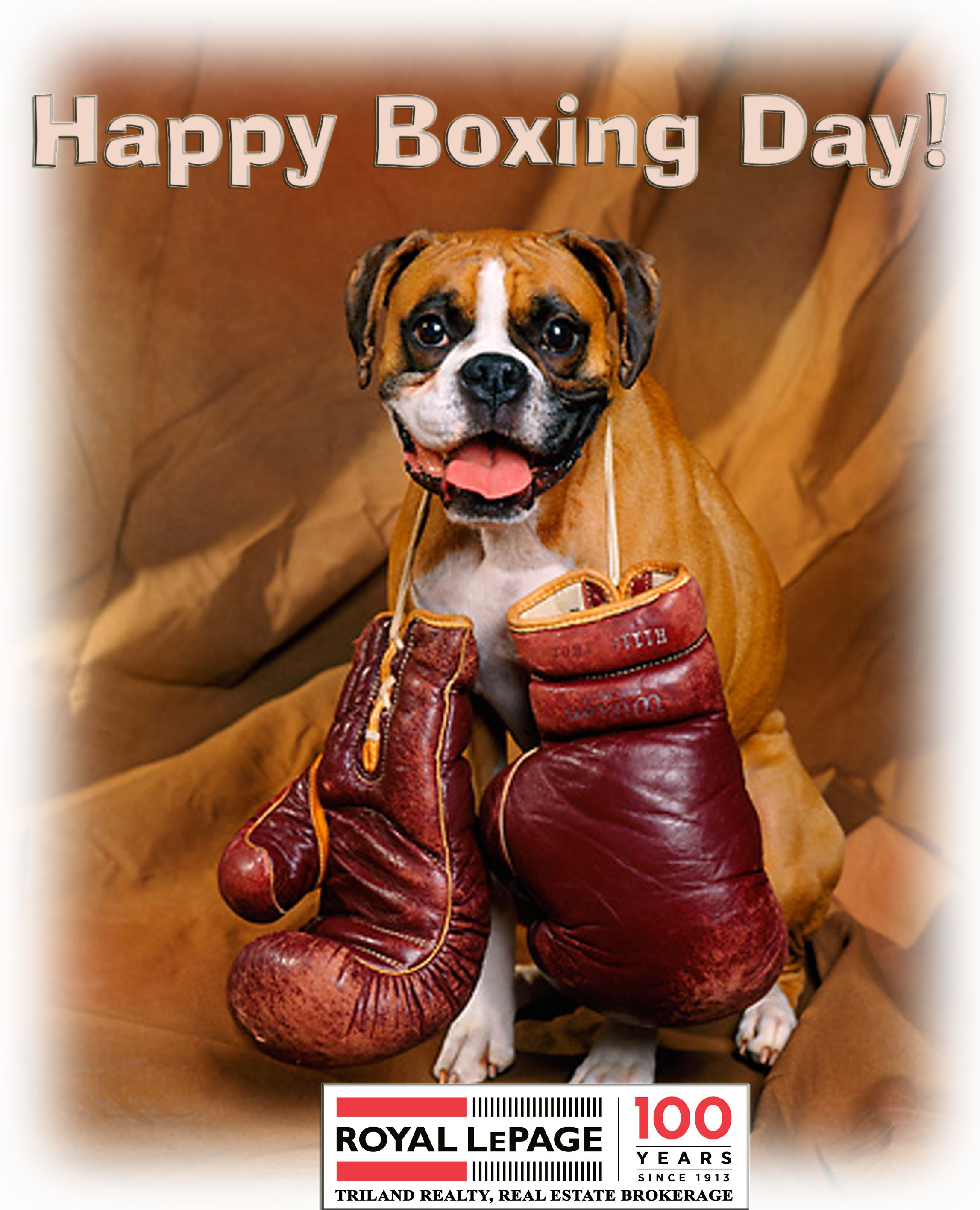 Royal LePage Triland Realty Happy Boxing Day! London