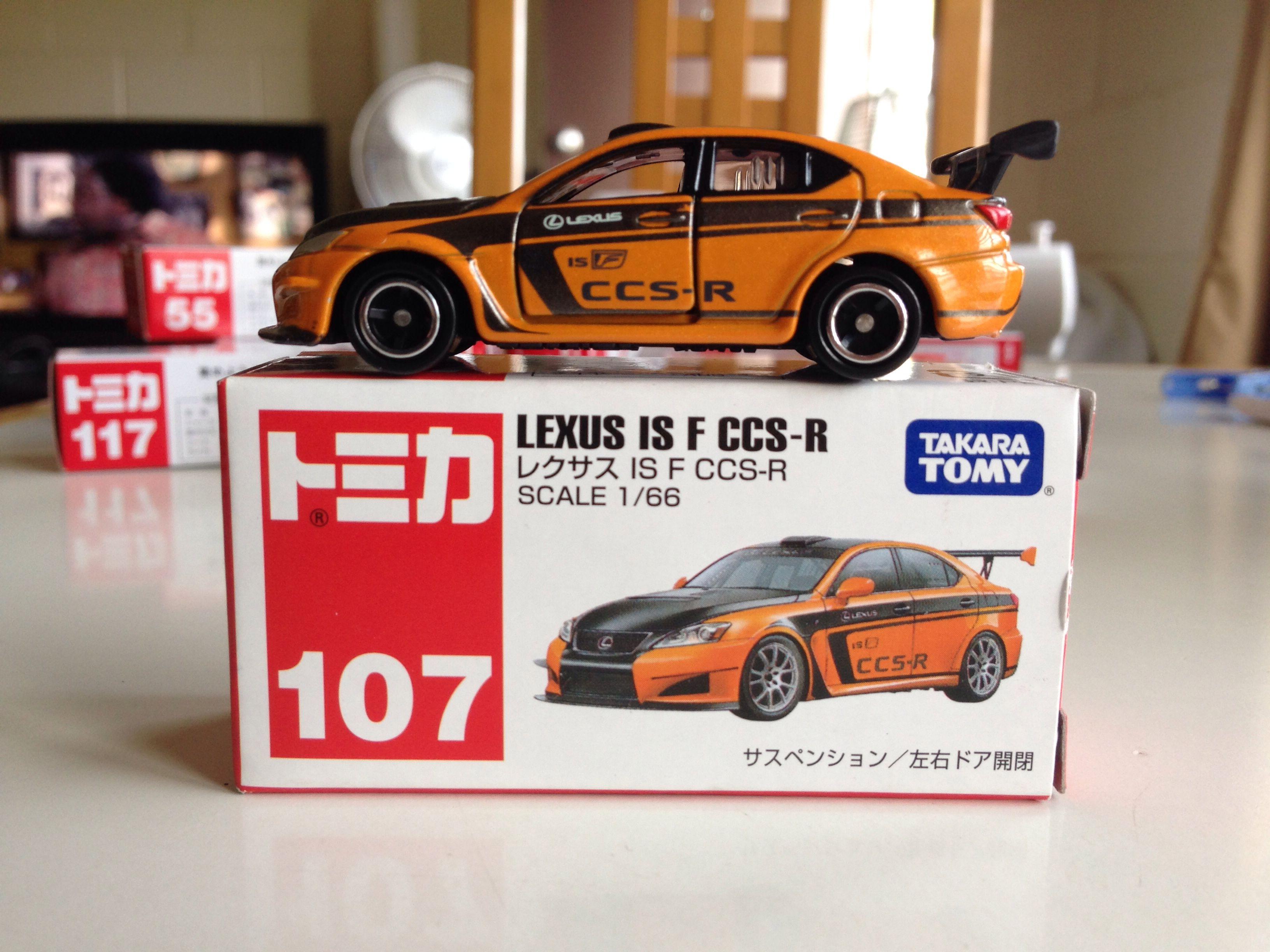 Tomica Lexus Is F Ccs R