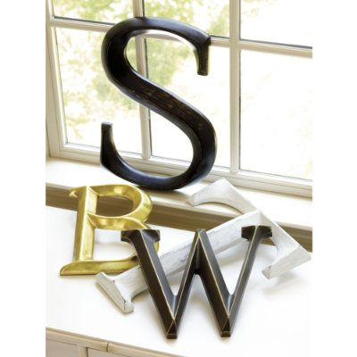 Decorative Letters - Driven by Decor