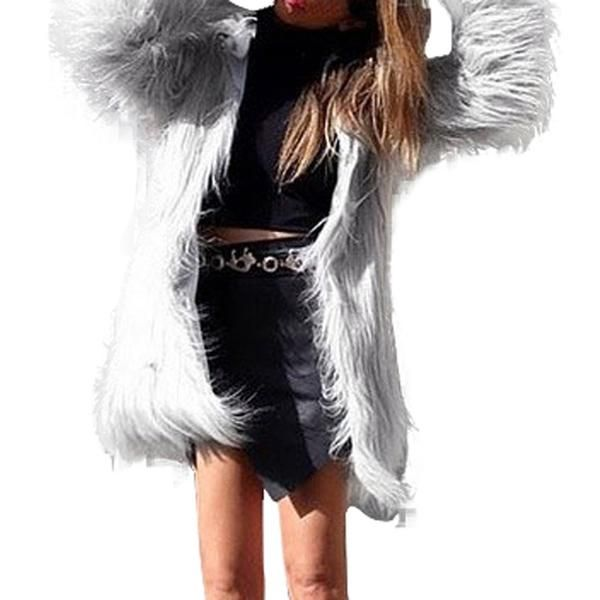 Faux Fur Jacket | Fur jacket, Shaggy faux fur coat, Faux fur