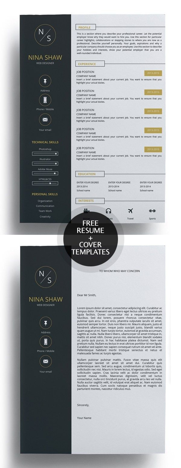 50 free resume templates  best of 2018