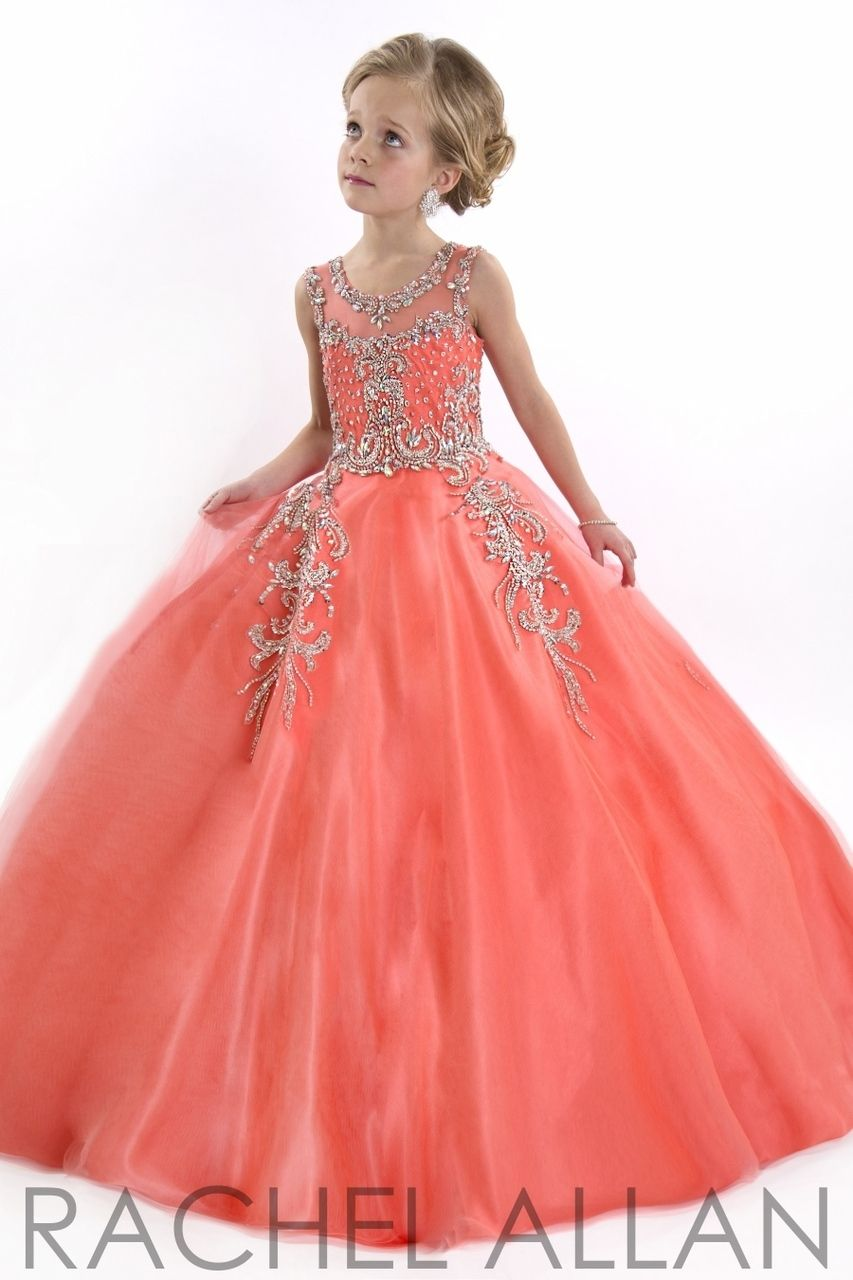 Everything Formals - Perfect Angels Little Girls Pageant Dress 1552,  $478.00 (http:/