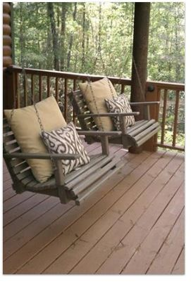 Marvelous One Person Porch Swing