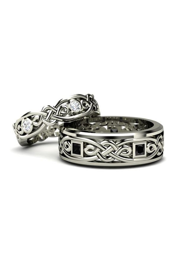 Tribal Wedding Bands Dont Just Look Amazing But Create A Striking Impact On