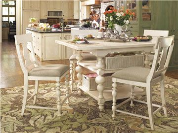 Paula Deen Kitchen Gathering Table Linen Finish Is A Part Of Paula Deen  Furniture Collection. Available At Knight Furniture Showrooms In Florence,  SC.