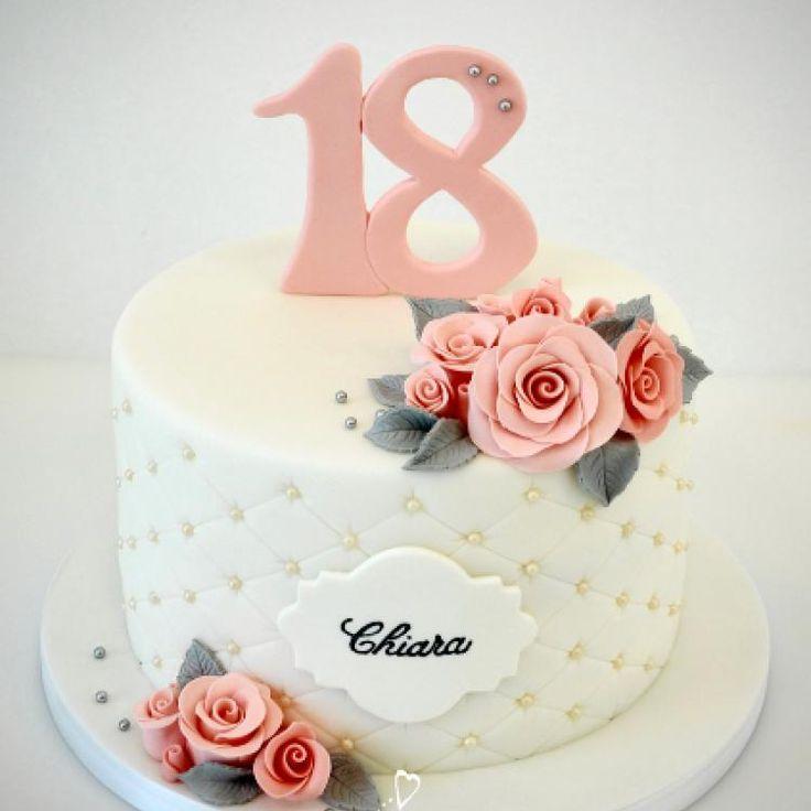 18th Birthday Cake Torti Recepti Narodzhennya