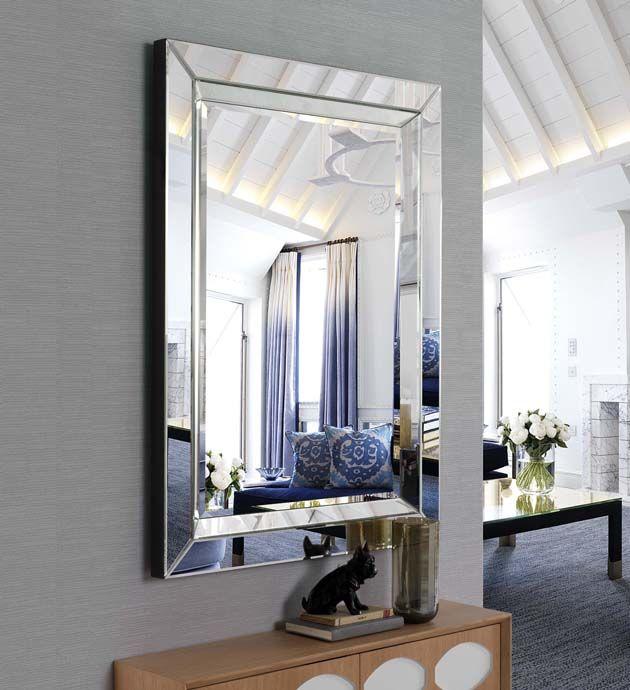 rechteckiger glasspiegel cartago dekoration beltr n ihr online shop f r elegante design. Black Bedroom Furniture Sets. Home Design Ideas