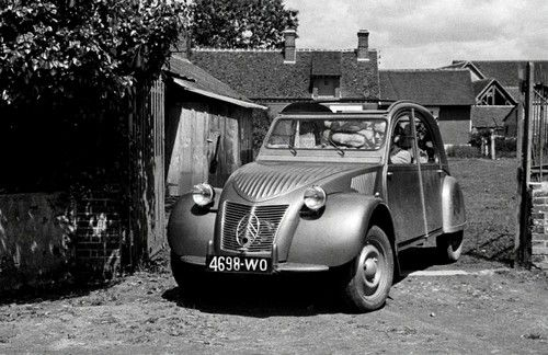 citroen 2cv production