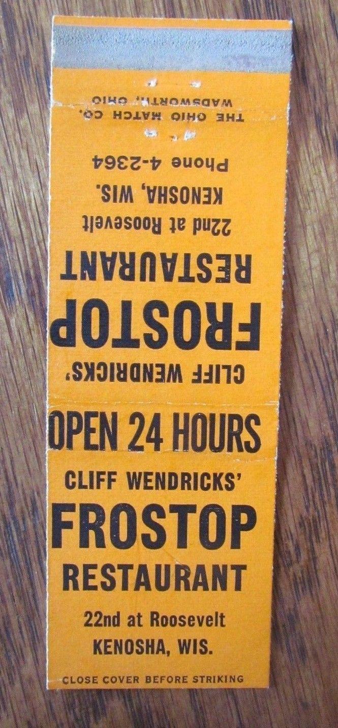 2711 Frostop Restaurant Kenosha Wi Kenosha Restaurant Eatery