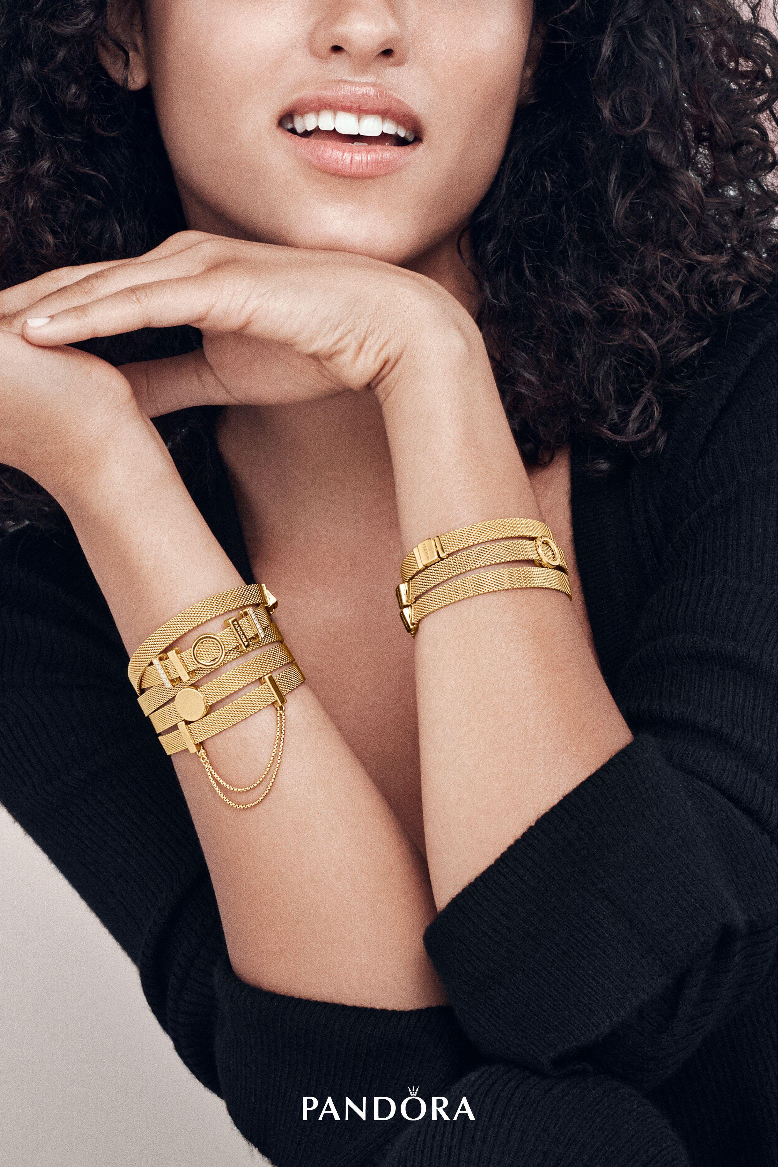 A showcase of modern femininity new pandora reflexions bracelets in