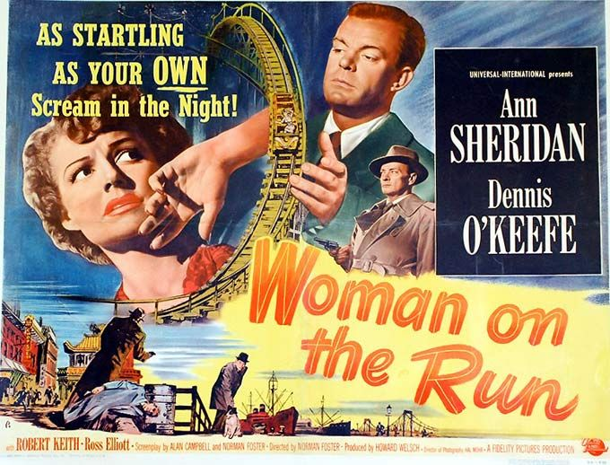 A Little NOIR Gem — 'Woman on the Run'