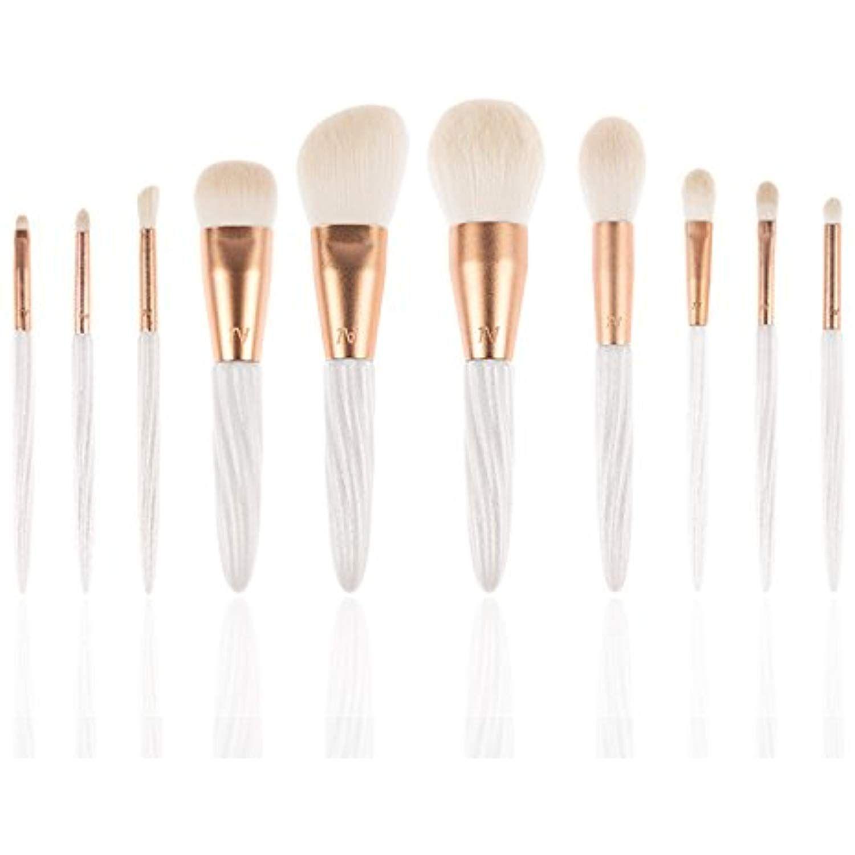 1bce3b81bfaf Texamo A Series 10 Pieces Premium Makeup Brush Set, Professional ...