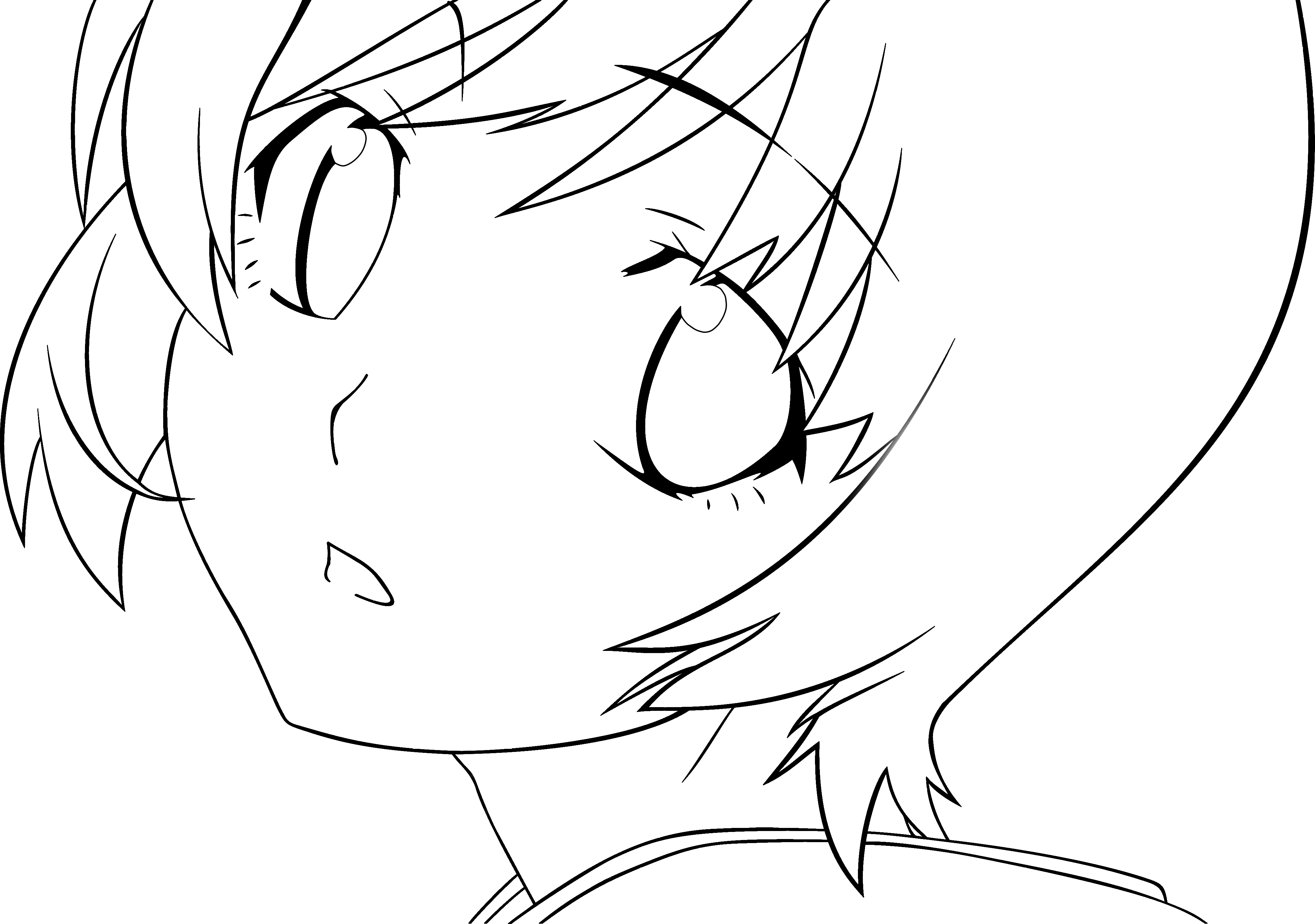 Pin On Anime Line Drawings