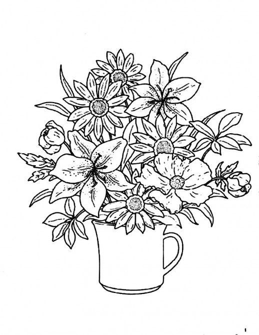 flowers-in-a-glass-for-simple-home-decor-coloring-pages-518x669.jpg 518×669 pixels