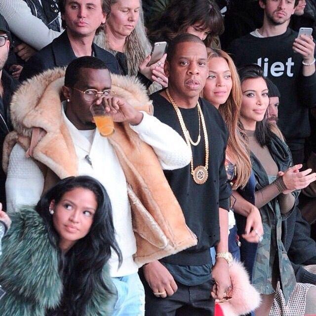 Kanye West S Yezzy X Addias Show Nyfw Cassie Cassieventura Diddy Yeezy Rihanna Beyonce Jayz Annawintour Kimkardashian Fashion Beyonce Adidas Fashion