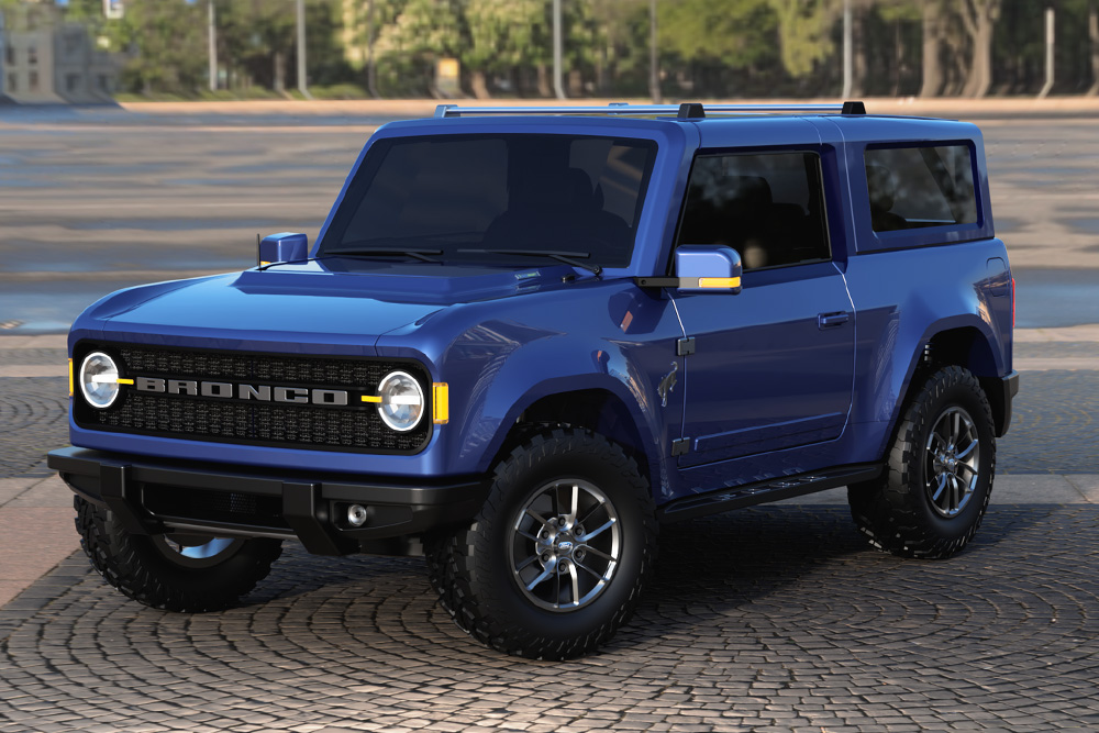 2021 Ford Bronco Concept Renderings Hiconsumption In 2020 Ford