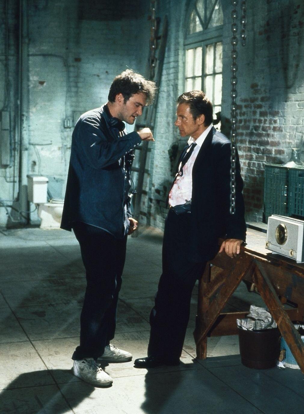 Pin by DeepBlue Seven on Tarantino BTS | Quentin tarantino, Reservoir dogs,  Quentin tarantino movies