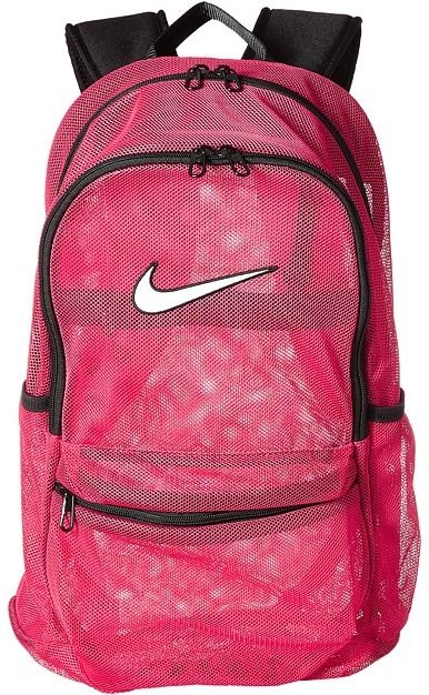 395db926b4 Millennial Pink Collection l Nike - Brasilia Mesh Backpack Backpack Bags