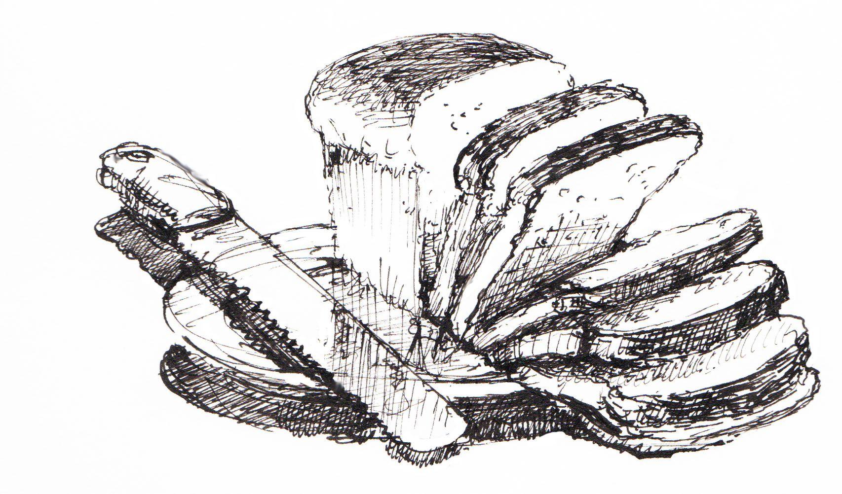 картинки карандашом хлеб как нарисовать сегодняшней рубрике ниже