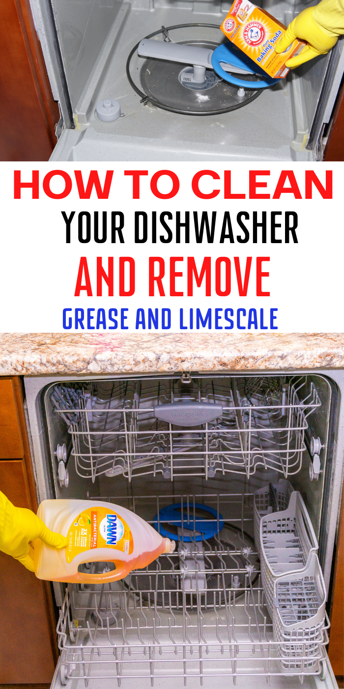 Clean Your Dishwasher Like A Pro To Remove Grease And Limescale Cleaning Your Dishwasher Dishwasher Stinks Dishwasher Cleaner