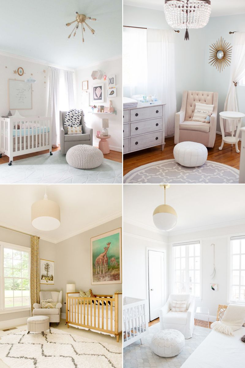 20 Sweet u0026 Chic Modern Nursery Room