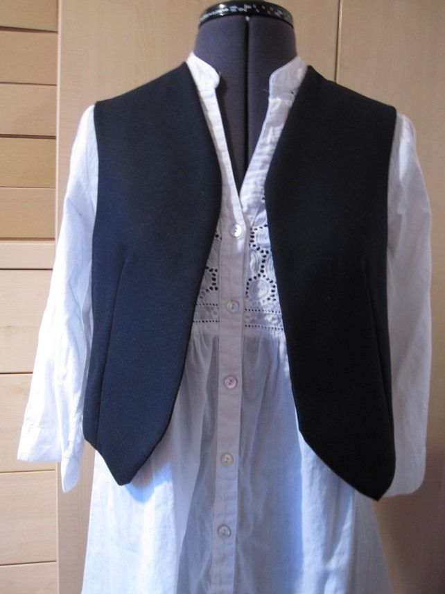 Ladies Reversable Waistcoat, Sleeveless Jacket, Bolero, Vest £25.00