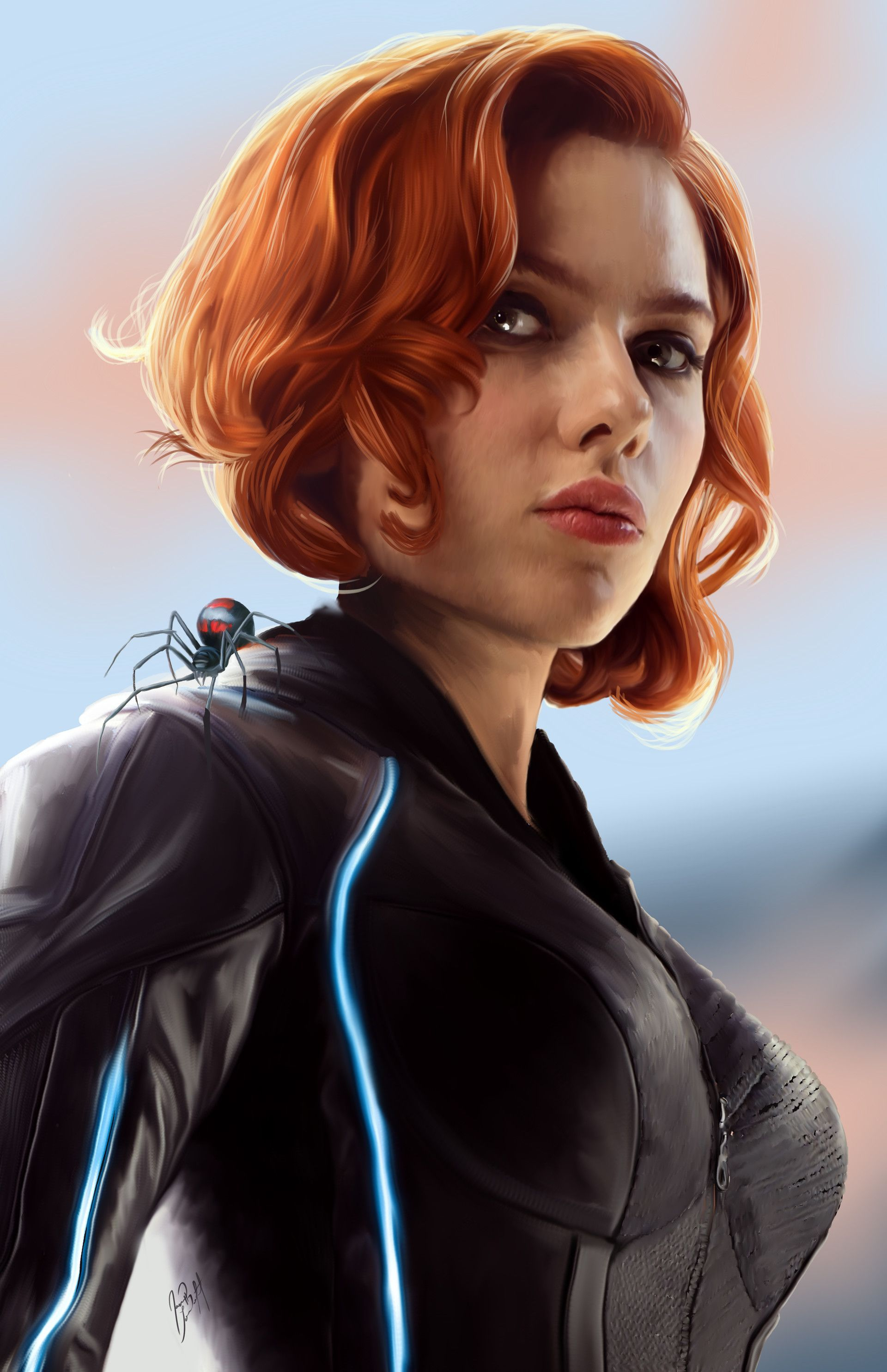 Artstation Black Widow Jason Longstreet Black Widow Marvel Black Widow Avengers Black Widow